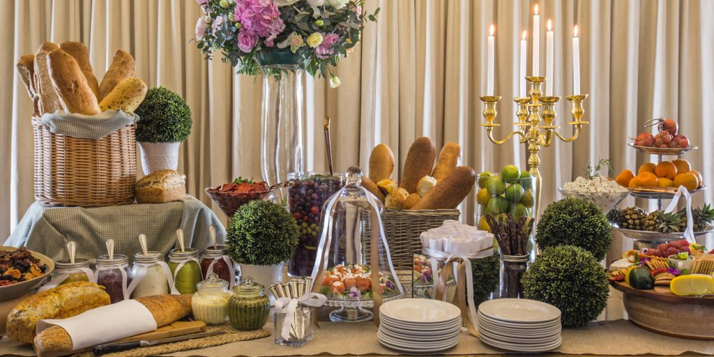 wedding venues johannesburg table menu